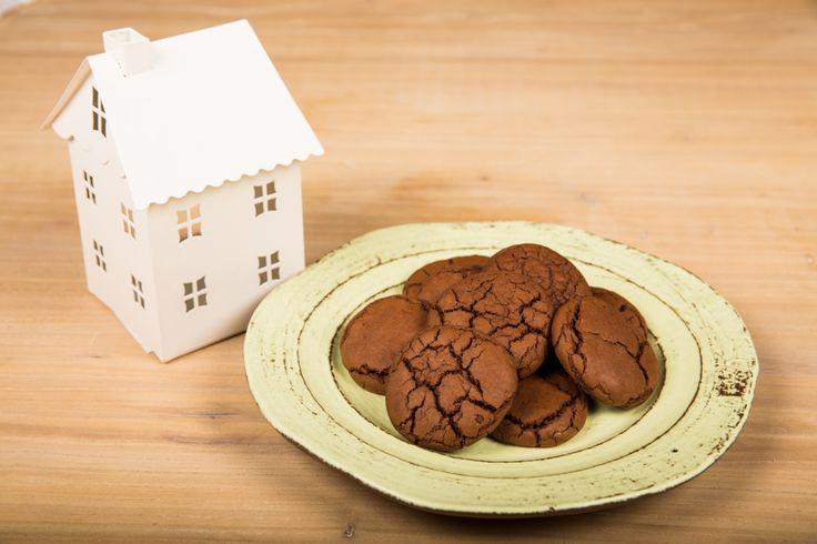 Biscotti croccanti al cioccolato - Chiara Maci