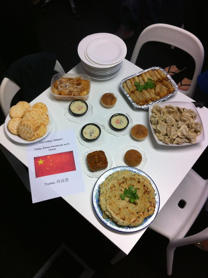 It's #CulturalFriday at blur - we have introduced some Chinese food!