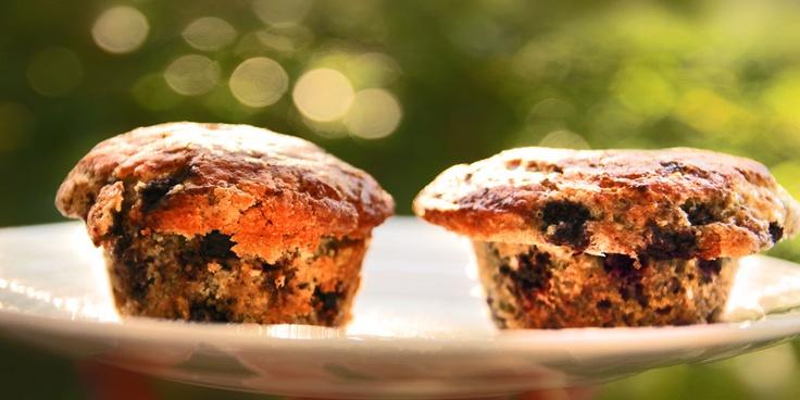 Oppskrift Muffins med blåbær fra Klikk.no