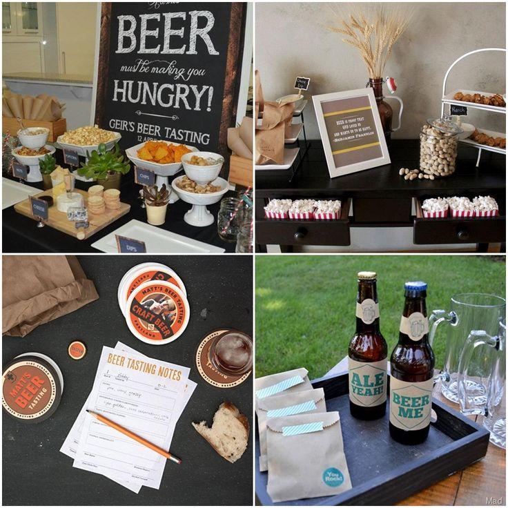 Oktoberfest Beer Tasting Party Ideas