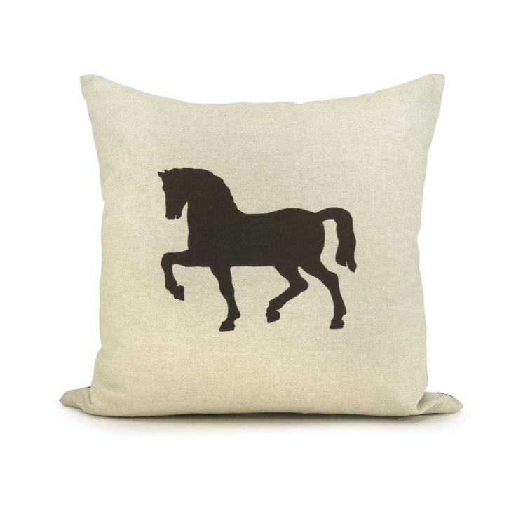 Decorative Horse Pillows : Horse Pillows Decor Iron Blog