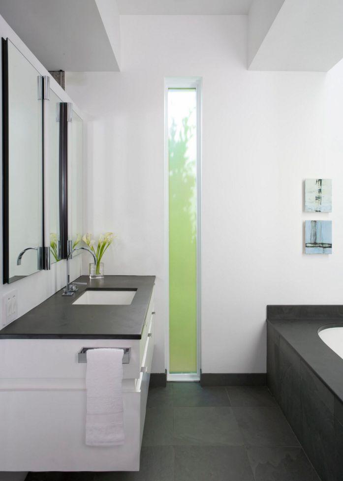 Das Design der Schiefer Waschtische ist eine gelungene Kombination aus Moderne und einem Hauch Rustikal. http://www.arbeitsplatten-naturstein.de/schiefer-waschtische-moderne-schiefer-waschtische
