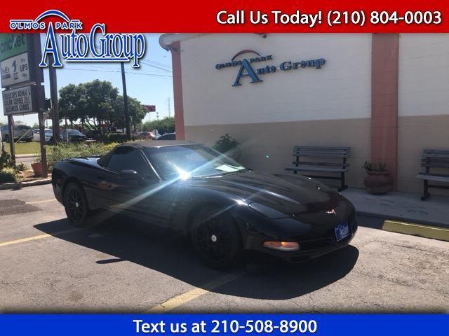 Used 2001 Chevrolet Corvette Convertible For Sale In San Antonio Tx 78212 Olmos Park Auto Group Chevrolet Corvette San Antonio Tx Corvette Convertible