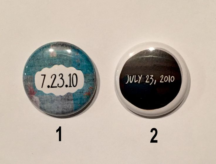 One Direction Button - July 23, 2010 - the first day of 1D - 1 inch button / @tourpendants