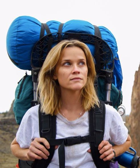 "Reese Witherspoon in the ""Wild"" trailer as Cheryl Strayed."