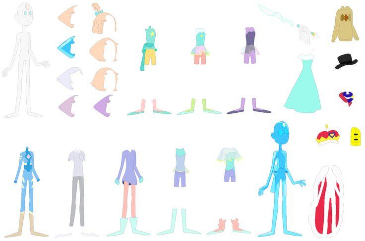 Su Pearl Base By Selenaede Steven Universe Stuff