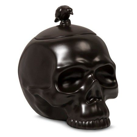 halloween skull candy jar spritz target - Target Halloween Decorations