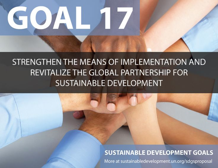 Proposal for Sustainable Development Goals ... Stengthen the means of Implementation and Revitalize the Global Partnership for Sustainable Development - Sustainable Development Knowledge Platform