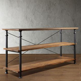 tribecca home industrial tv stand shopping great deals on tribecca home