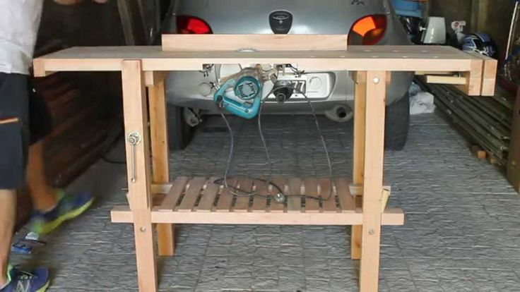 202 best videos de brico images on pinterest homemade tools how to make and woodworking - Banco de trabajo brico depot ...