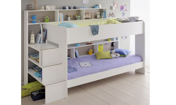 White Bibop 2 Bunk Bed