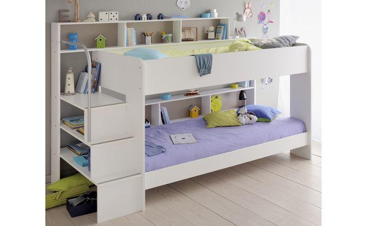 White Bibop 2 Bunk Bed