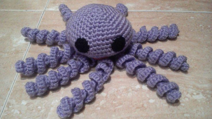 Como hacer un Pulpo a ganchillo o crochet en español