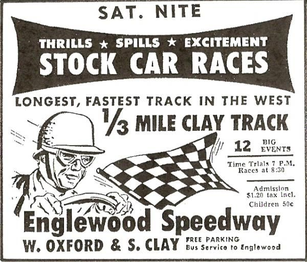Man Caves Englewood : Stock car races at englewood speedway vintage
