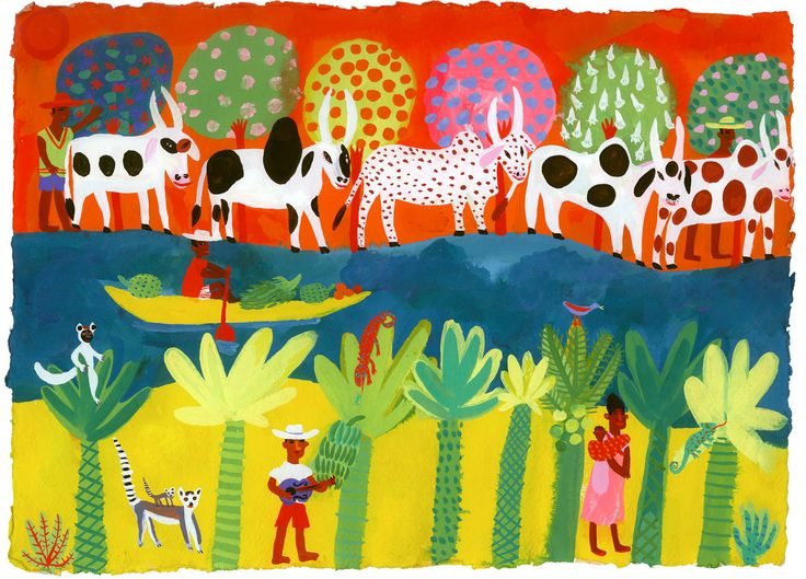 Madagascar Cattle by Christopher Corr