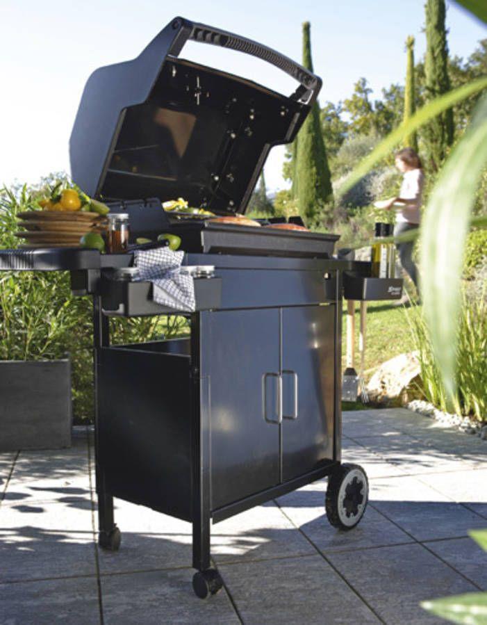 Barbecue Spirit E210 + Plancha Leroy Merlin