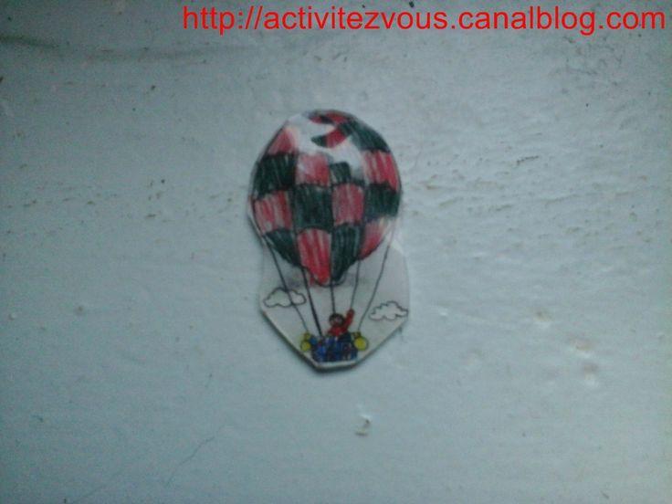 BRICOLAGE: magnette mongolfi�re