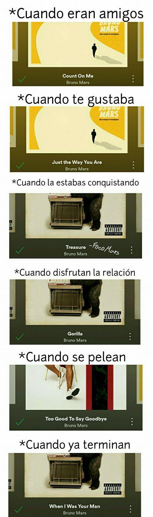 Bruno Mars...