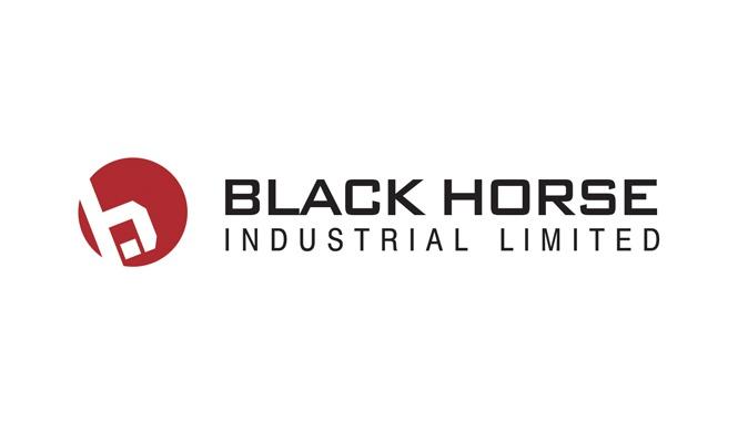 Black Horse Industrial Logo