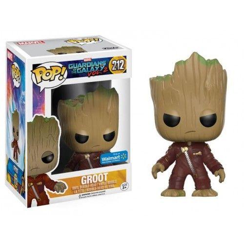 Funko Pop! Groot Jumpsuit, Walmart Exclusive, Guardians of the Galaxy, Guardiões da Galáxia, Marvel, Funkomania, Quadrinhos