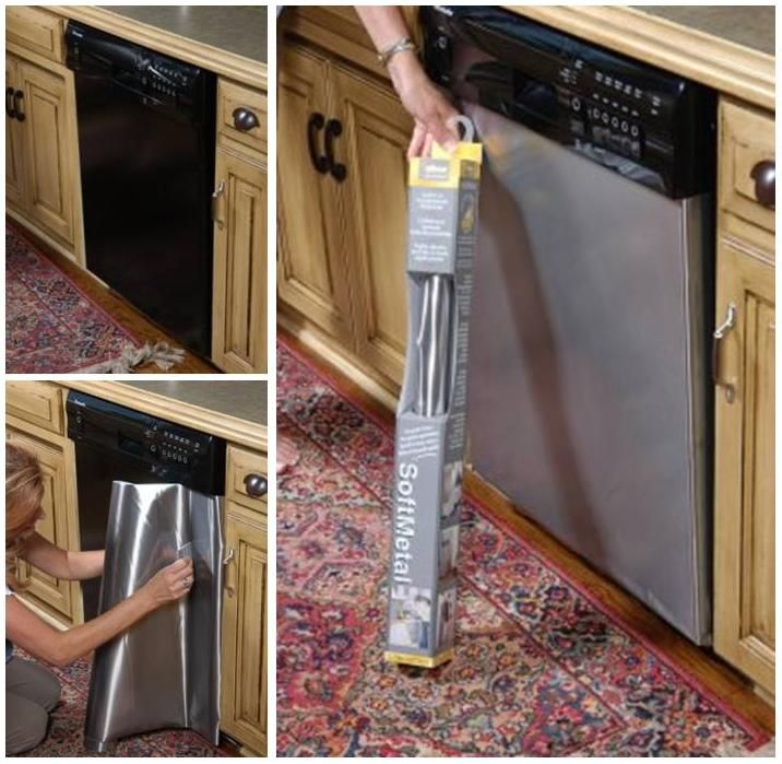Covers Magnetic Dishwasher Steel Stainless