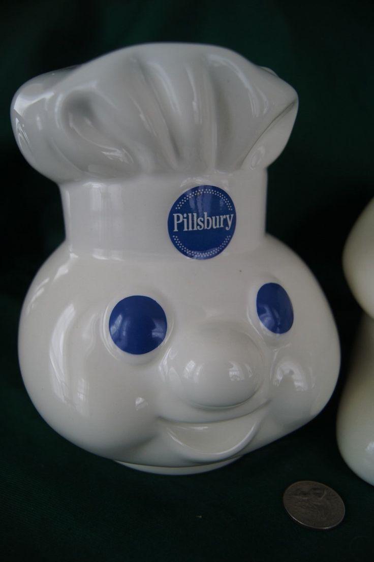 vintage rare pillsbury poppin fresh dough boy ceramic cookie jar etc in box ebay - Pillsbury Dough Boy Halloween Cookies