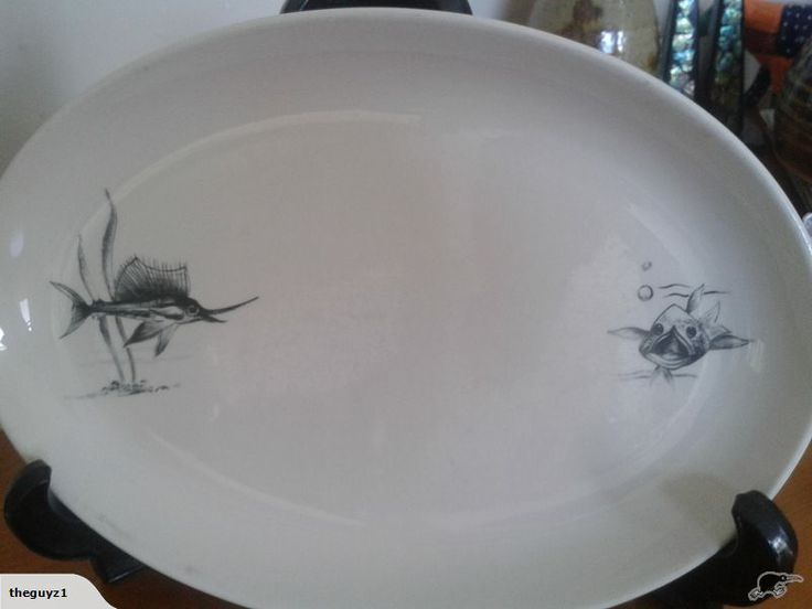 "Scarce Large Platter Crown Lynn ""Neptune"" #2 | Trade Me"