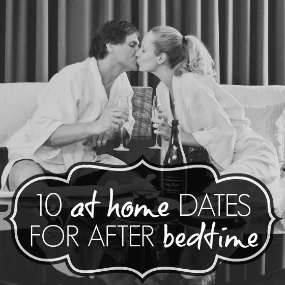 10 at home dates for after bedtime (because date night still needs to happen after Baby C gets here!)