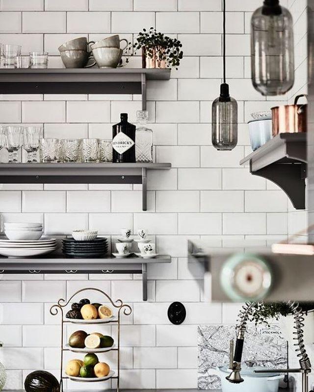 All the right pieces. via @entrancemakleri #scandinavian #interiors #minimalism #simplicity #subwaytiles