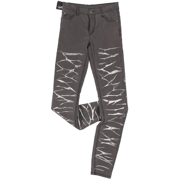 Выбеленные джинсы цвета хаки, Cheap Monday ❤ liked on Polyvore