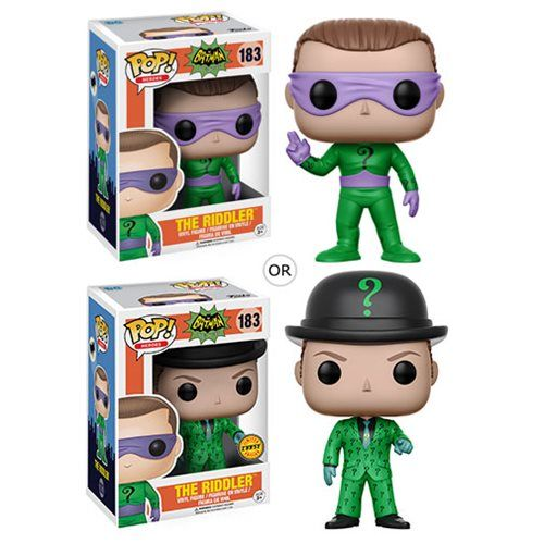 (affiliate link)  Batman 1966 TV Series Riddler Pop! Vinyl Figure