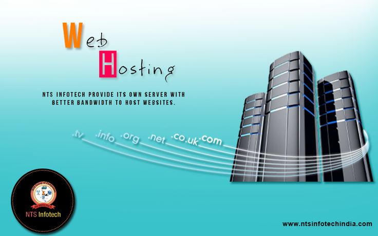Web Hosting NTS infotech provide its own server with better bandwidth to host websites.For more visit:- http://www.ntsinfotechindia.com