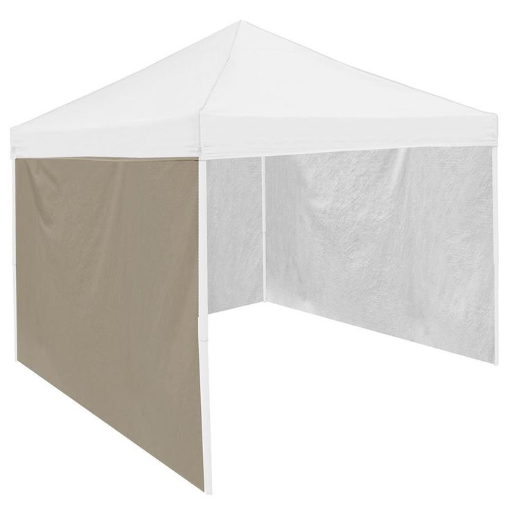 10' x 10' Tailgate Canopy Tent Side Wall Panel (Khaki)