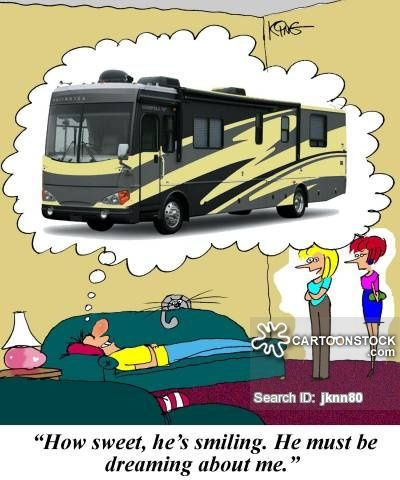Rv Cartoons Rv Cartoon Funny Rv Picture Rv Pictures Rv Image