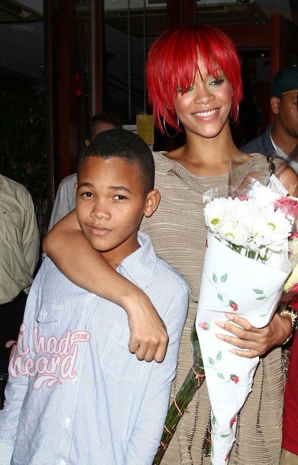 Rihanna's littler brother, Rajad