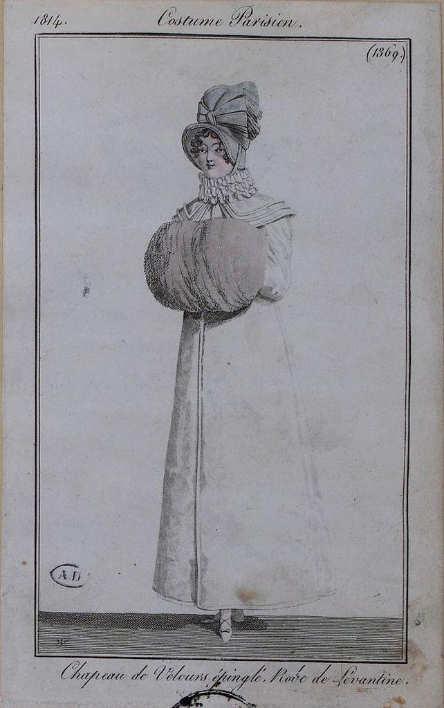Csotume Parisien, 1814.