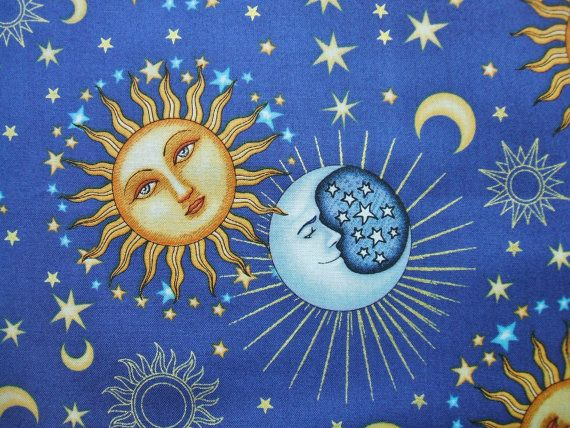 172 best celestial quilts images on pinterest mosaics for Celestial fabric by the yard