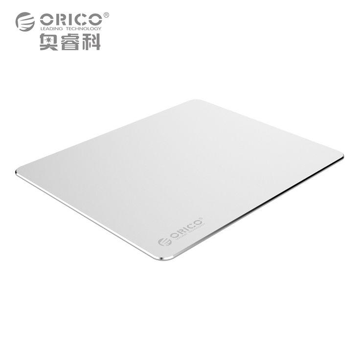 ORICO Aluminium Mouse Pad dengan 1.5mm Aluminium & 0.5mm Karet untuk Rumah, Kantor, Bisnis, dll (AMP2218)