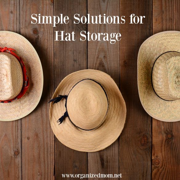 095b4607527 Simple Solutions for Hat Storage