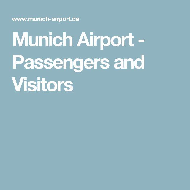 Munich Airport - Passengers and Visitors