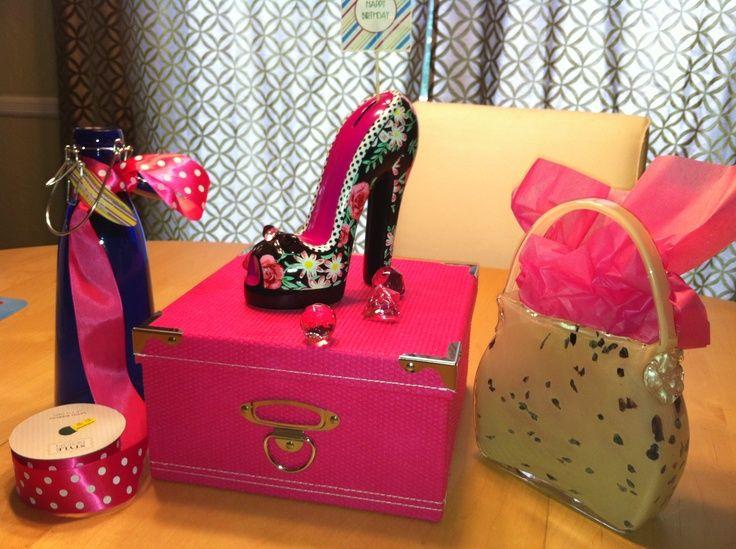 Shoe Centerpieces Shoe Handbag Centerpiece Projects To