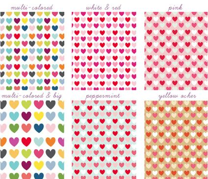 Heart Shaped Free Digital Papers Crafts Printable For Valentines Day