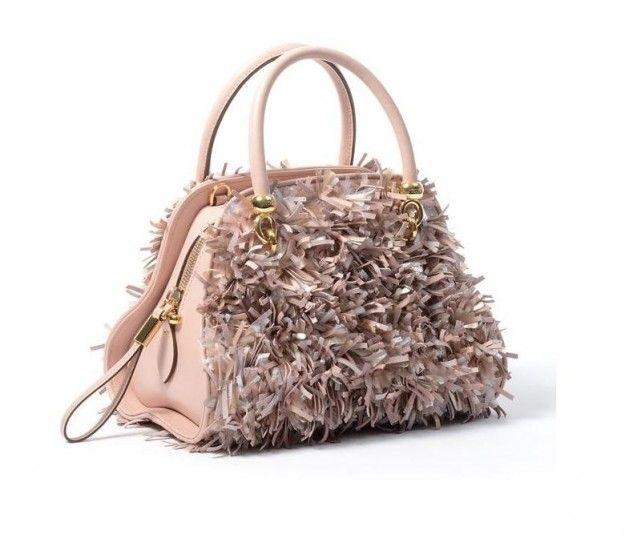 Handbag Tod's con frange