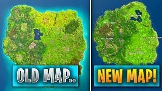 Fortnite Map Replaced With Another New Smaller Map