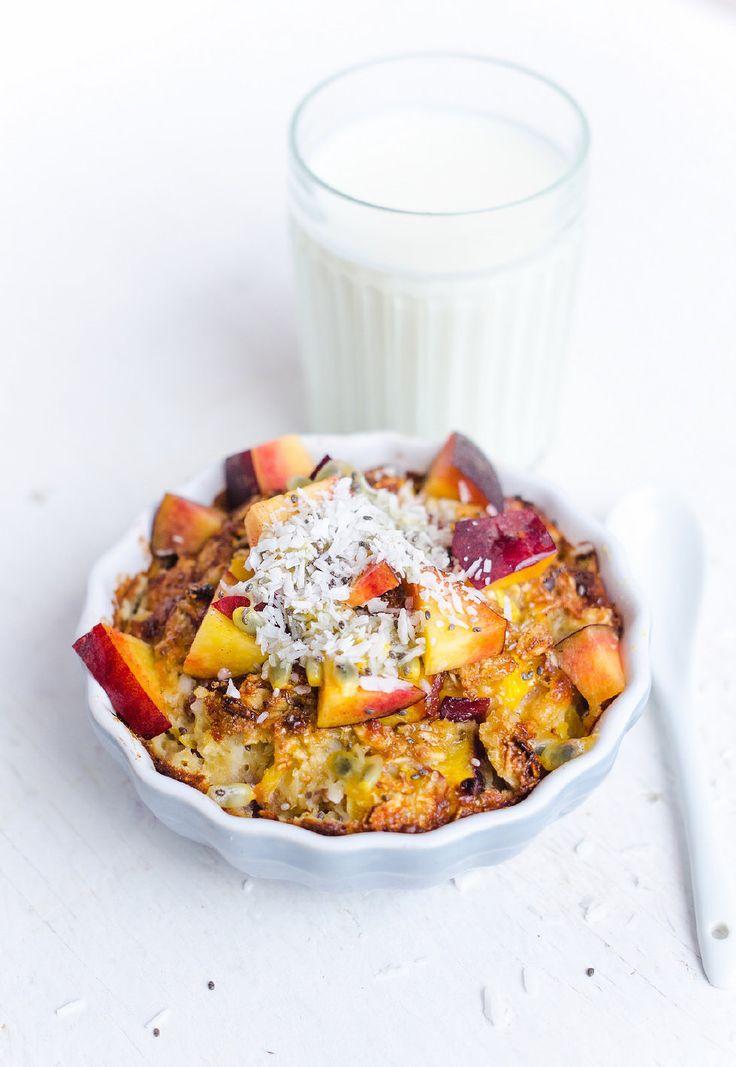 Recept: Ugnsbakad gröt / baked oatmeal