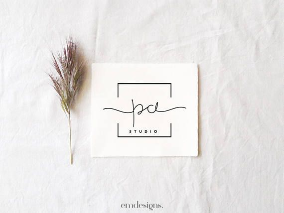 Small business logo, Feminine branding logo design…