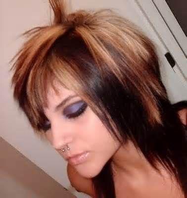Medium Choppy Hairstyles with Bangs - Bing Images