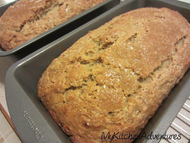 Applesauce Bread
