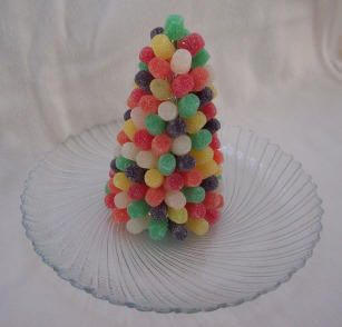 Gumdrop Christmas Tree: Christmas Parties, Crafts Ideas, Christmas Crafts, Gumdrop Trees, Trees Crafts, Christmas Trees Decor, Crafts Projects, Kids, Craft Ideas