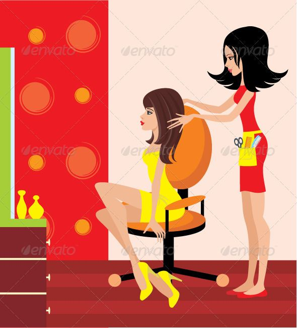 Woman in a Beauty Salon  #GraphicRiver         Vector illustration, color full, no gradient, no mesh     Created: 16April12 GraphicsFilesIncluded: JPGImage #VectorEPS #AIIllustrator Layered: No MinimumAdobeCSVersion: CS Tags: barber #beautiful #beauty #beautysalon #contrast #cute #elegance #face #fashion #girls #glamour #group #hair #hairbrush #haircut #haircutting #hairdresser #hairstyle #interior #lifestyle #person #relaxation #salon #style #stylist #women #young